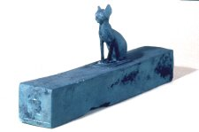 Bronze cat mummy case late period