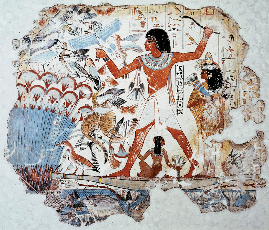 Tomb of the Noble Nebamun 1450 BC