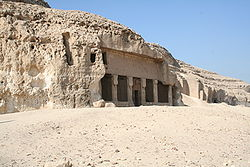 Temple of Pakhet at Speo Artemidos, cat goddess Pakhet