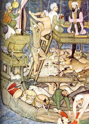 16th century Noah and the Flood, Mogul