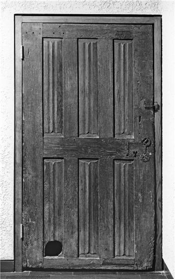 Door Cat Hole Medieval14th-15th Century Walters Museum, Cat in Church Architecture, Medieval cats