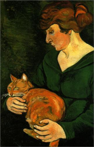 Louison and Raminou Suzanne Valadon 1920