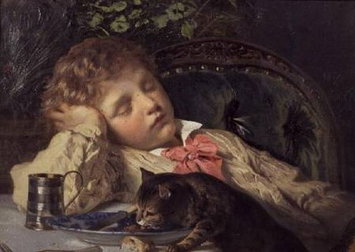 An Opportune Moment Sophie Gengembre Anderson Private Collection