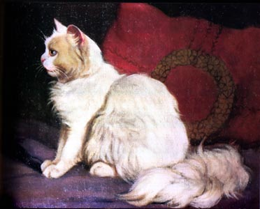Seated Cat Arthur Heyer Private Collection