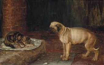 Guarding the Remains of Supper Horatio Henry Couldery Private Collection