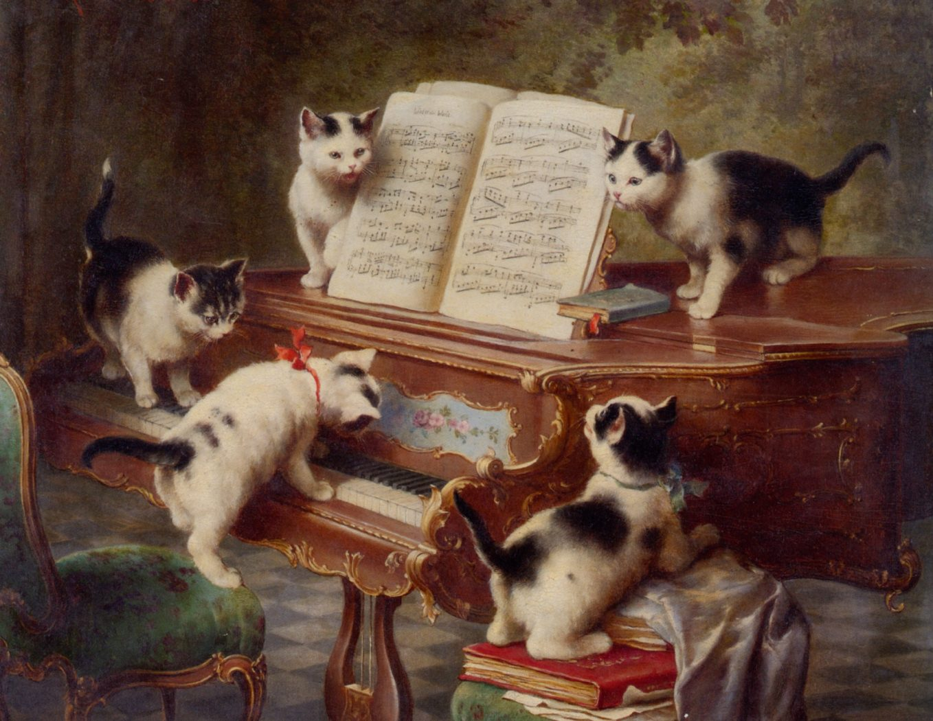 The Kittens' Recital