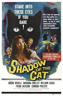 Shadow of the Cat, cats in film, cat films, cats in cinema