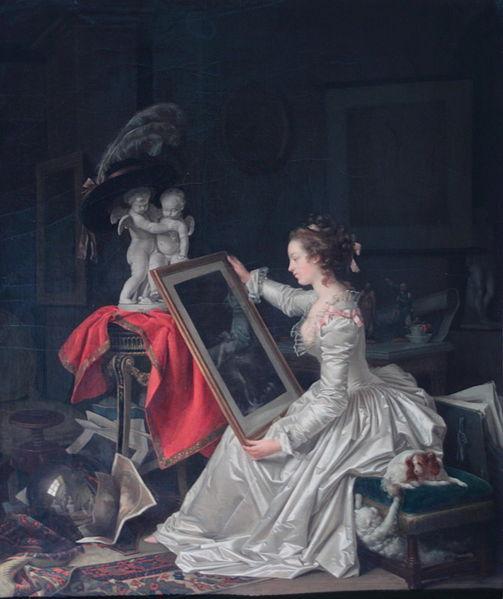 L'Élève intéressante Jean-Honore Fragonard and Marguerite Gerard Private Collection
