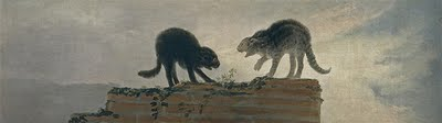 Rina De Gatos Francisco Goya, cats in art