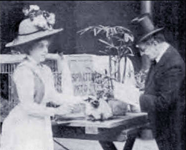 Francis Simpson and Louis Wain Judging at the Crystal Palace 1871 first cat show