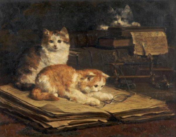 Reading, Charles Van den Eycken Private Collection