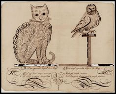 Edward Lear Owl and the Pussy Cat Foss