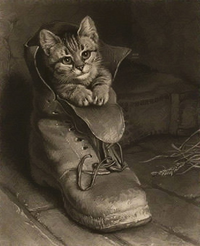 Puss in Boots Frank Paton private collection