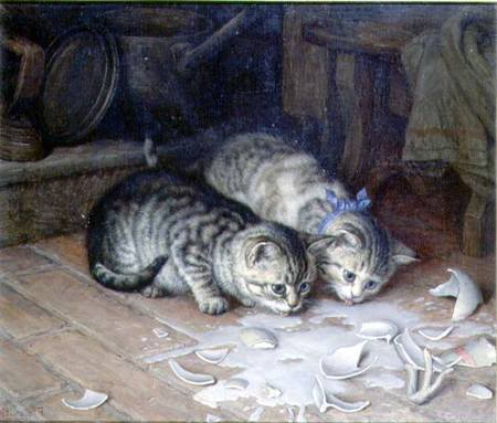 Spilt Milk Frank Paton private collection