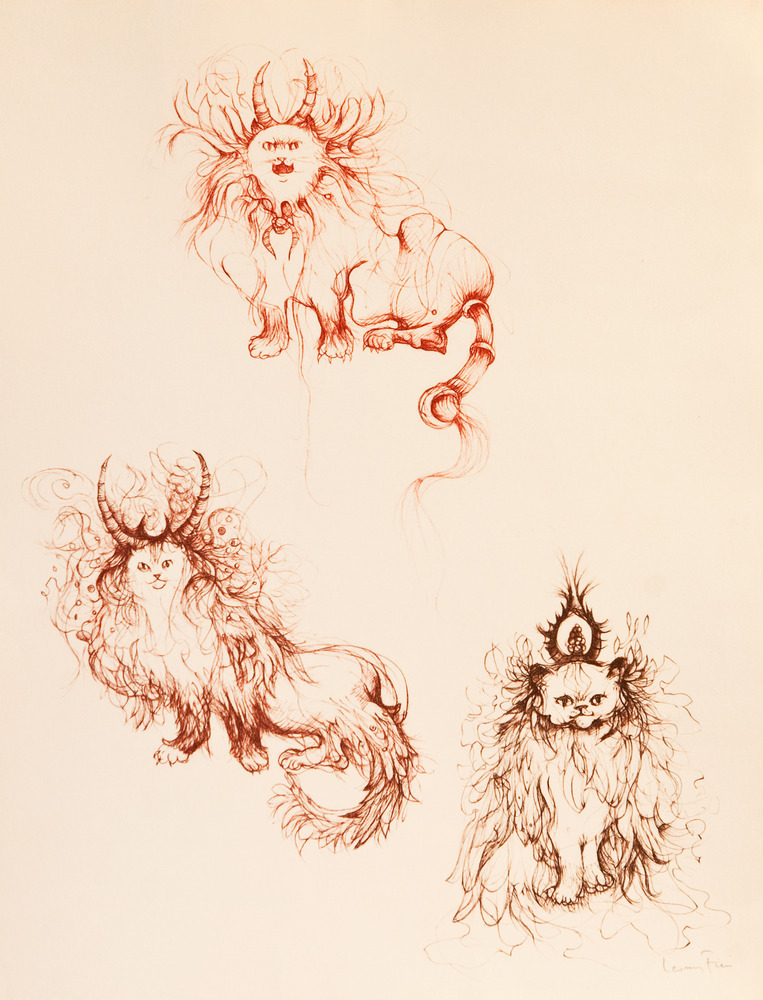 Chats à cornes - 1983