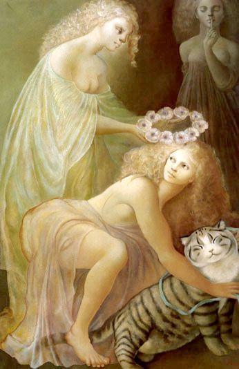 Le Couronnement de la Bienheureuse Feline, 1974