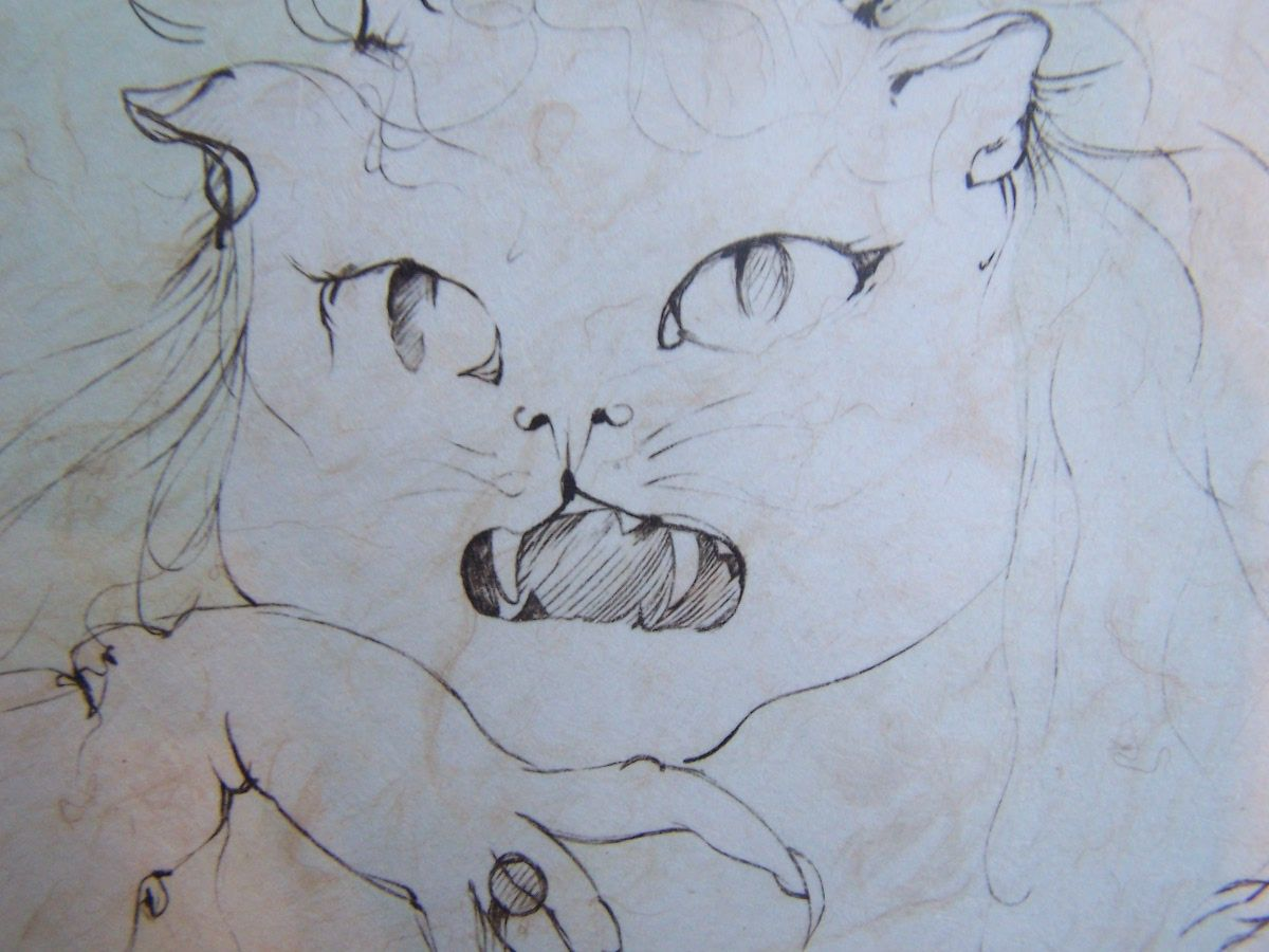 Leonor Fini cats