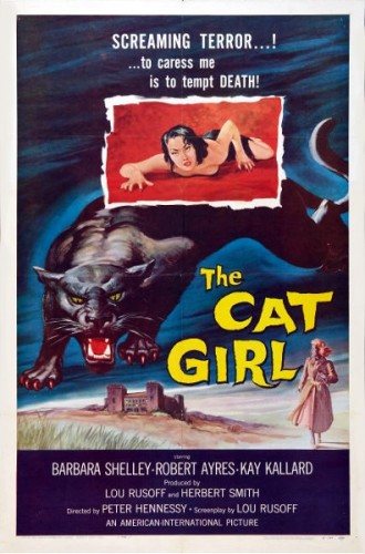 Cat Girl, cats in film, cats in cinema, women and cats