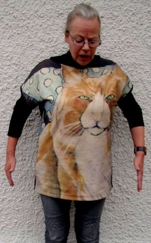 Cat art tops Fun with Ukko 2-Carla Raadsveld