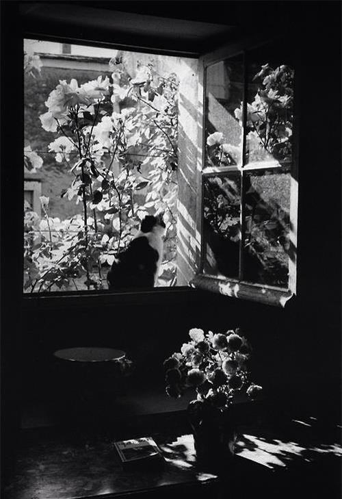 Boubat Stanislas at the Window 1973