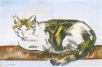 Cunayou chat appartenant à lartiste 1930
