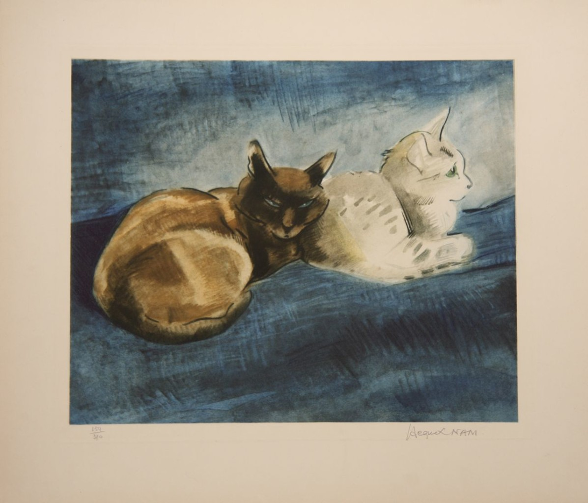 Capucin et Adimah 1950, Lehmann Nam