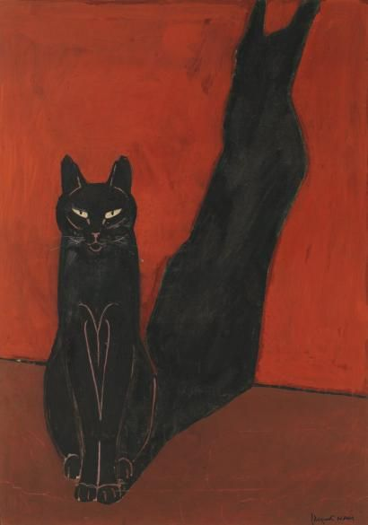 Le Chat et son ombre (The cat and his shadow), c. 1935-40