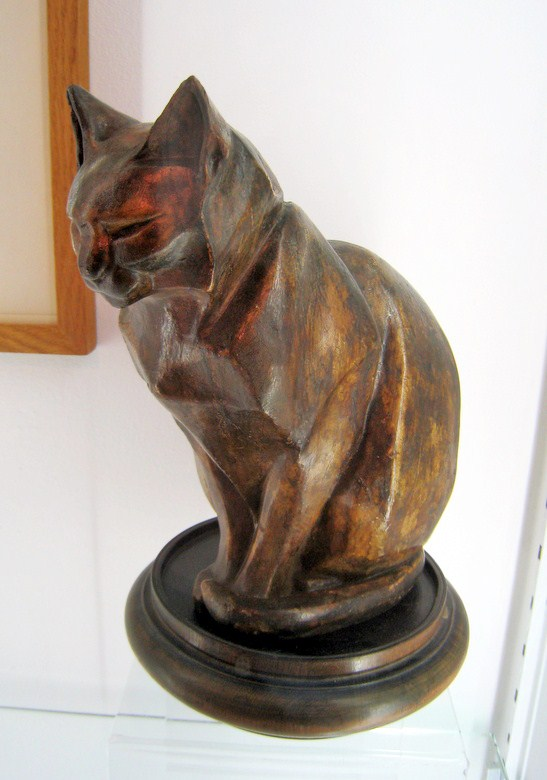 Cat Sculpture- Oise, Lehmann Nam