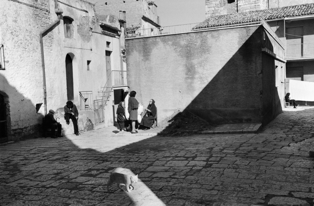 Cat 1973 Basilicata. Brienza, Italy, Henri Carter-Bresson