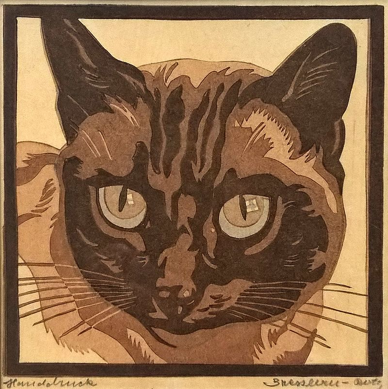 Siamese Cat 1946,