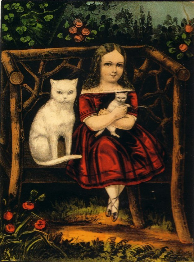 The Little Pets Currier & Ives
