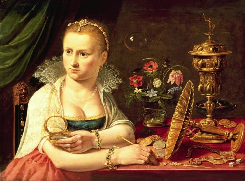 Clara Peeters Self-Portrait 1610