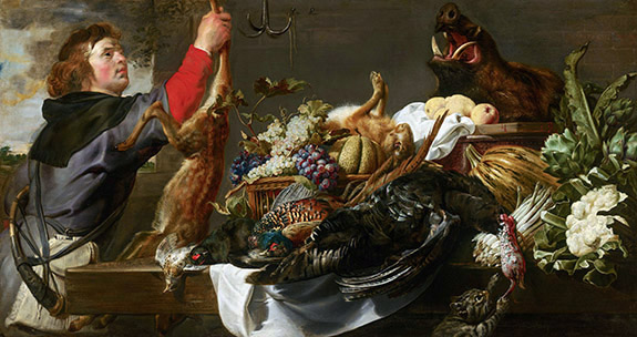 Still Life with Huntsman 1615 F. Snyders