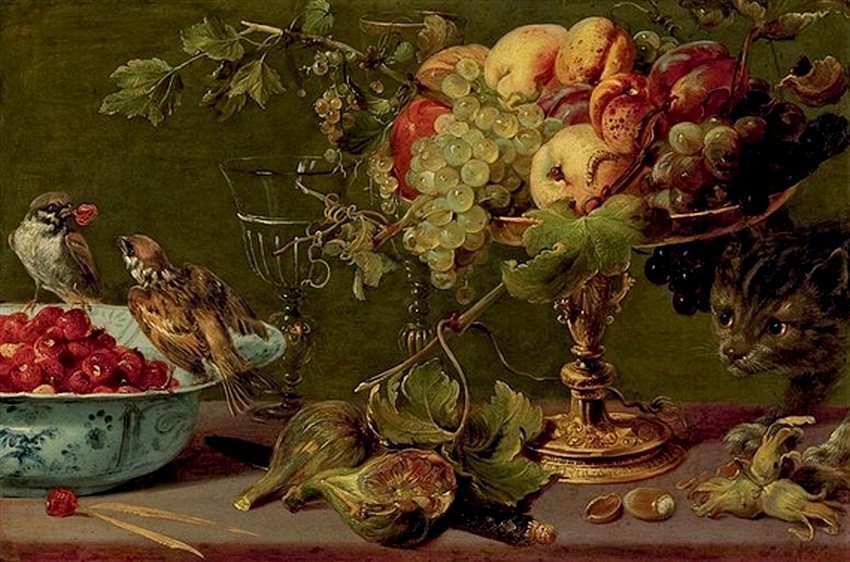Frans Snyders cats in art