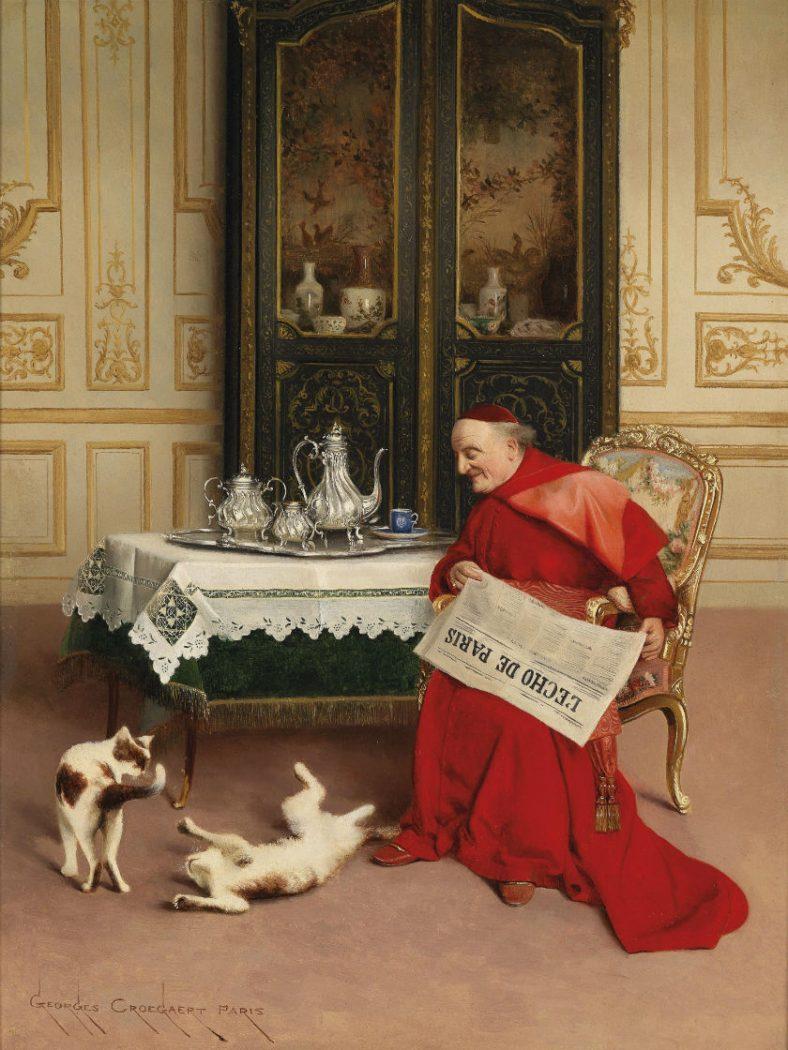 Cat Games 1923 Georges Croegaert