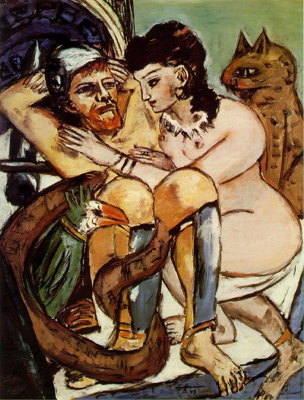 Odysseus and Calypso M Beckmann, 1943