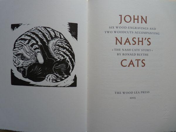 John Nash's Cats