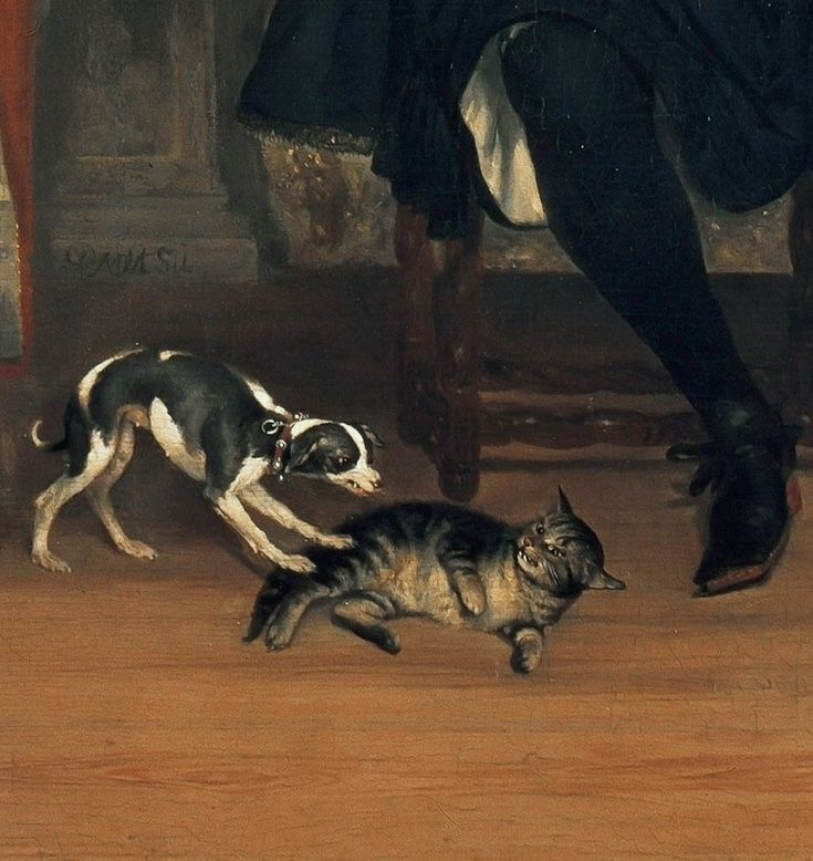 Detail, Buromaster Gillis Valckenier and his Family. G Metsu