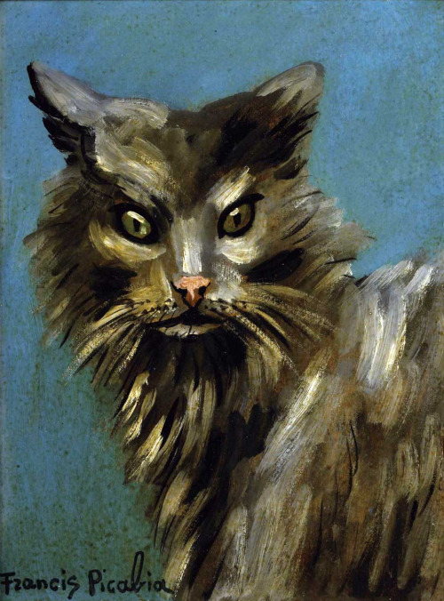 F. Picabia Portrait of a Cat