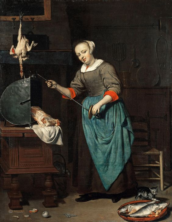 Gabriel Metsu the cook