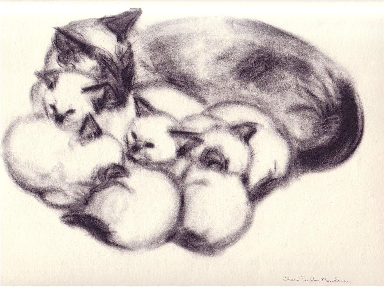 Lilipuss and Kittens, C. Turlay Newberry