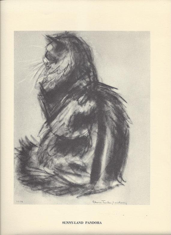 Pandora, 1956 Clare Turlay Newberry