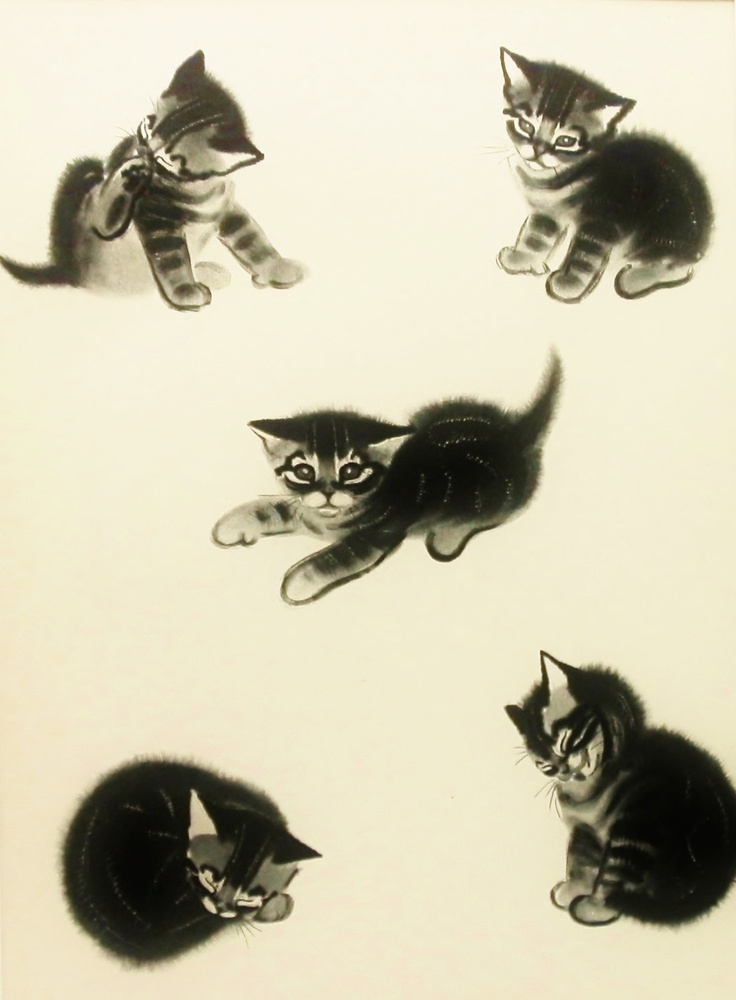 Study of a Kitten, Clare Turlay Newberry