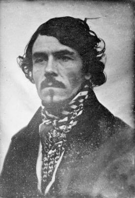 Portrait of Eugene Delacroix by Leon Riesener 1842