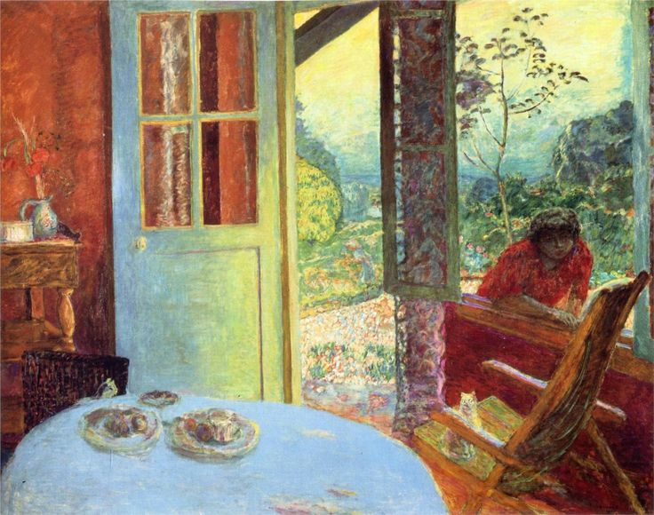 Pierre Bonnard (Francia, 1867-1947). The Dining Room in the Country, 1913