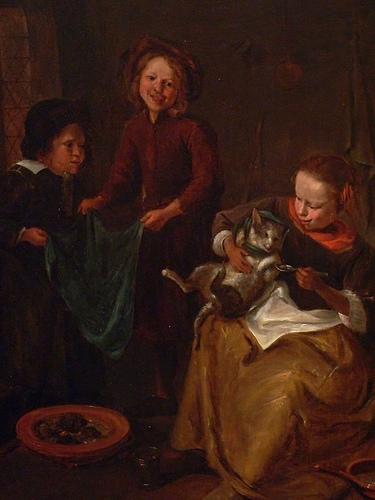 The Cat's Medicine, Jan Steen