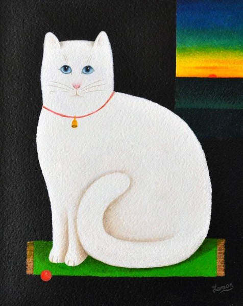 White Cat Martin Leman