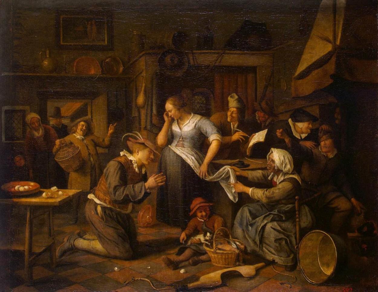 jansteen_marriagecontract 1668
