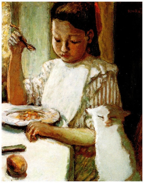 Child with a Cat 1906, P. Bonnard