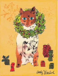 Andy Warhol, Christmas Cat